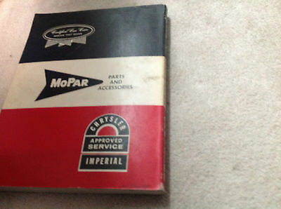 1963 Chrysler Imperial Service Shop Reparatur Manuell OEM Fabrik Riesig Autohaus image 5