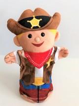 Melissa & Doug Bold Buddies Sheriff Hand Puppet - $13.09