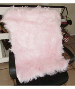 Carvapet Baby Pink Luxury Soft Faux Sheepskin Chair Cover 2' X 3' -K4 - $29.99