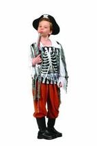 RG Costumes Skull Pirate Costume (Boys S (4-6)|Black/Rust/White) - $30.02