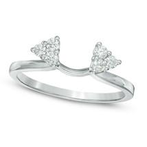 2Ct D/VVS1 Round-Cut Sim Diamond Pave Bridal Set Sterling Silver Engagem... - $467.46