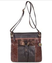 The Sak Kendra Cross-body, Soft Leather Brown Cooper Multi Handbag - $59.99
