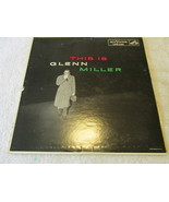 This Is Glenn Miller Record Album Record Album - $5.00