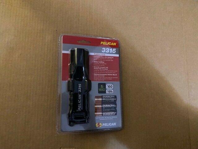 Black  Pelican 3315 LED Flashlight.-Brand New