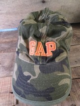 GAP Camouflage Camo Fitted Size L/XL Youth Kids Cap Hat - $5.93