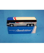 Vintage GREYHOUND AMERICRUISER BUS Coin BANK With Box No. 200 - $19.99