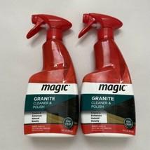 (2) MAGIC Granite Cleaner & Polish Spray 14 fl oz. Discontinued - $37.99