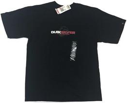 Quiksilver Logo Boy's Nwt Black Boardriding Short Sleeve Shirt Size: Large - $14.20