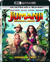 Jumanji: Welcome to The Jungle (4K Ultra HD+Blu-ray, 2018)