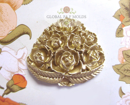 Sugarcraft Molds Polymer Clay Cake Border Mold Cake Decorating tools mold 09-521 - $18.00