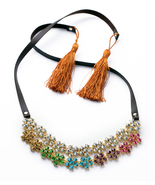 Necklace Dress Match Party Jewelry Chunky Big Statement Necklace for Women - $39.32