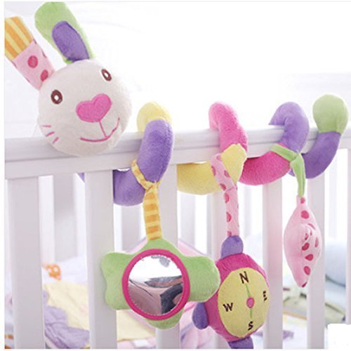 Colorful Rabbit Baby Toy & Bed Hanging & Cribs Decors