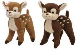 TY Beanie Babies Nutmeg & Honey Reindeer Pair - $25.51