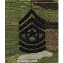 Genuine Us Army Chevron Gortex Tab Rank: Command Serg EAN T Major - Ocp Jacket Tab - $9.88