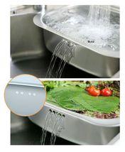 Silicook Stainless Steel Basin Dishpan Dish Washing Bowl Bucket Basket (Hole) image 6