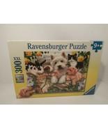 Ravensburger Happy Animal Buddies 300 Piece Puzzle (New Sealed) free shipping! - $26.99