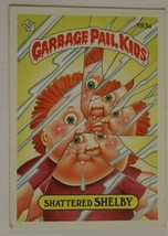 Shattered Shelby Vintage Garbage Pail Kids #193A Trading Card 1986 - $2.96