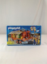 New Playmobil 4422 Off Road Technic Trailer Center & Accessories Toy Pla... - $88.81