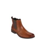 Stafford Bretton Mens Cognac Dress Boots M 10 - $150.00