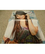 Victoria Justice teen magazine poster clipping Victorious Bravo green hat - $6.00