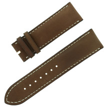 Chopard 23 - 22 mm Dark Brown Genuine Leather Men's Watch Band - $249.00