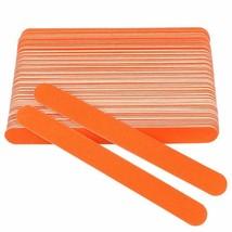 Nail Art Tools 100Pcs/Lot Nail Sanding Professional Wooden  Files Orange... - $17.72