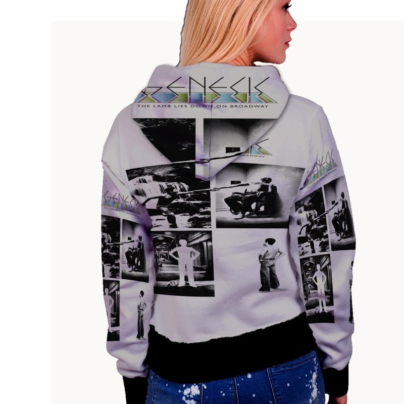 Frozen New Collage WOMENS HOODIE image 2