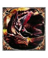 "ACK ANN Stokes Winged Companions Art Tile 4""x4"" 99014 - $8.98"