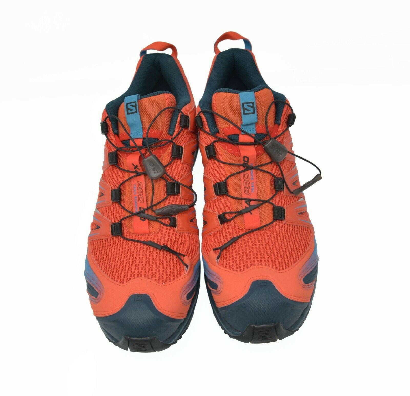 Solomon XA PRO 3D Trail Running Men's Sz 12.5 EU 47.5 Hiking Trail Sports Shoes image 4