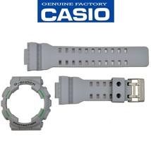 Genuine Casio G-Shock  GA-110TS-8A3 Gray Watch Band & Grey Bezel Rubber Set - $50.95