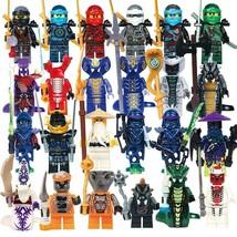 24pcs/set Ninjago Ghost Warriors Serpentine Pythor WU Samurai X Minifigures - $24.99