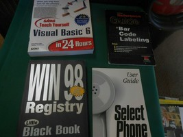 4 SOFTWARE Books for Computer People.............FREE POSTAGE USA - $14.44