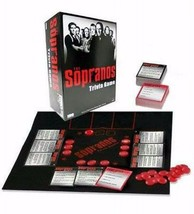 The SOPRANOS Trivia Board Game - Factory Sealed - HBO Mafia  - Ships Today Fast - $18.49