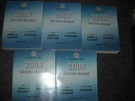 2008 Chrysler Town & Country & Dodge Caravan Service Shop Repair Manual ... - $237.55