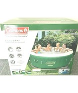 Coleman SaluSpa Inflatable Hot Tub Spa Pool Green Outdoor Jacuzzi NEW IN... - $737.54