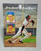 Hall Of Fame 1986 Program Willie McCovey Bobby Doerr Ernie Lombardi - $7.69