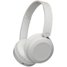 JVC HAS31BTH Foldable Bluetooth On-Ear Headphones (Warm Gray) - $54.92