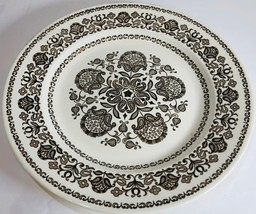 """Royal China """"Wellesley"""" Brown Dinnerware Collection USA Oven Proof - $2.96+"""
