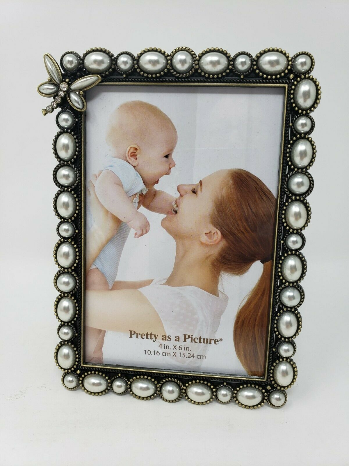 "Primary image for 4"" x 6"" Pretty as a Picture Butterfly Photo Frame"