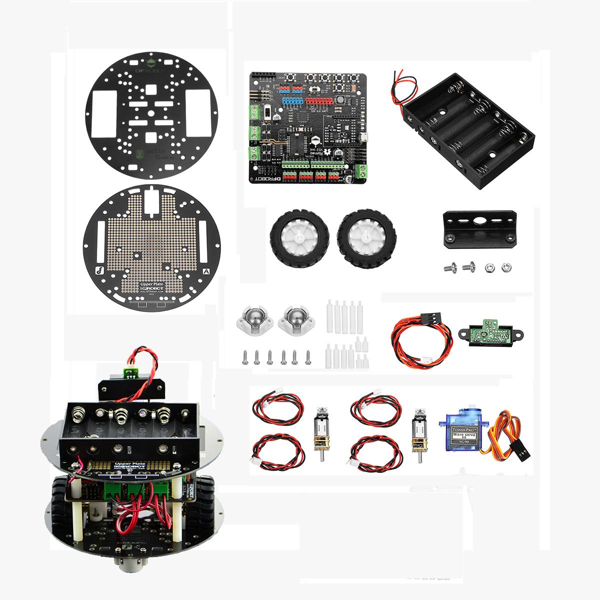 Dfrobot miniq discovery arduino smar robot kit consumer