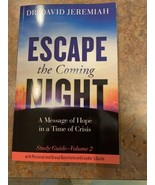 Escape the Coming Night Study Guide Vol 2 by DR. DAVID JEREMIAH , Paperback - £23.43 GBP