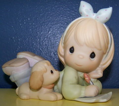 FRIENDS WRITE FROM THE START Precious Moments Set w/fig - $23.52