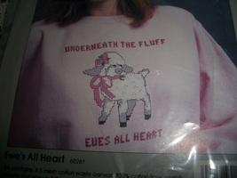 Ewe's All Heart Wearables Cross Stitch Kit - $5.00