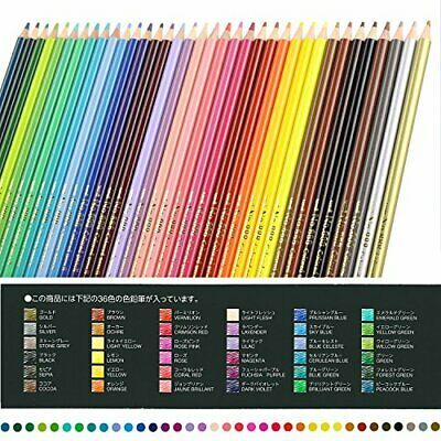 Mitsubishi Pencil colored pencils No.888 36-color K88836C