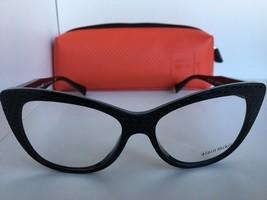 New ALAIN MIKLI A 01346M A01346M B0J2 52mm Black Cats Eye Eyeglasses Italy - $224.19