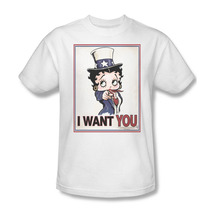 Betty boop i want you boop oop a doop for sale online graphic tee bb730 at thumb200