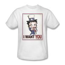 Betty Boop I Want You Boop Oop A Doop American  T'shirt Comic Cartoon BB730 image 1