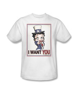 Betty boop i want you boop oop a doop for sale online graphic tee bb730 at thumbtall