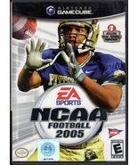 NCAA Fotball 2005 GameCube - $7.95