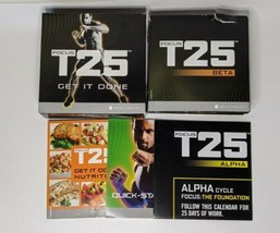 Focus T25 Get It Done Beachbody Alpha Beta Base Workout 9 DVD Set Missin... - $14.01